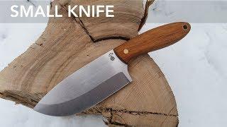 Making a Small Bushcraft Knife // Knifemaking // My Cellar Workshop