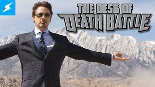 Tony Stark's Tumor is Smarter Than You  | The Desk of DEATH BATTLE