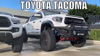 Toyota Tacoma 2018, Lifted Fox Suspension