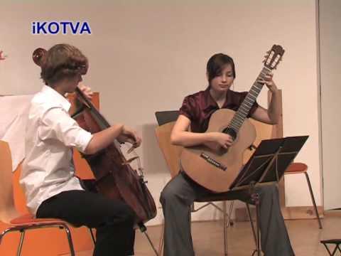 Koncert Pro Vážku - Hrají Klavír, Violoncello, Kytara.mpg