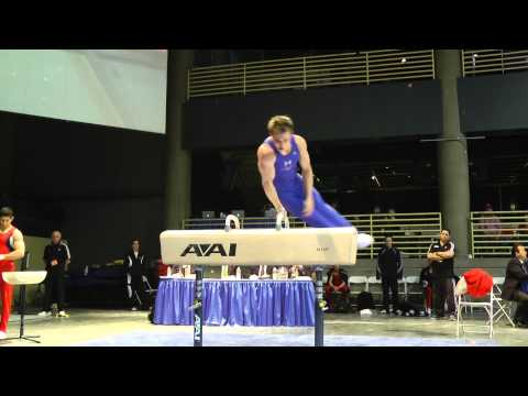Jonathan Horton - Pommel Horse - 2012 Winter Cup Prelims