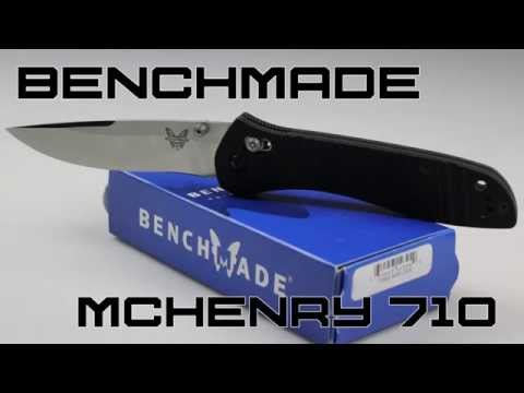 Benchmade 710 McHenry Review | KnifeHog