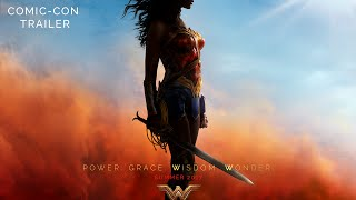 WONDER WOMAN Comic Con Trailer VideoMp4Mp3.Com