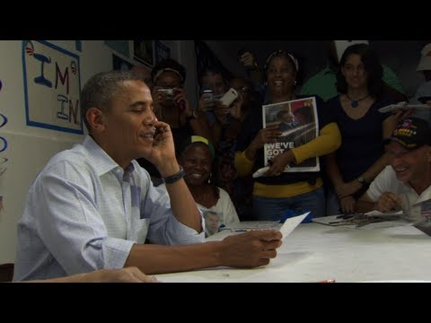 President Obama Calls Neighborhood Team Leaders