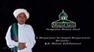 Pengajian Guru Zuhdi di Masjid Jami, Malam Ahad 14 Januari 2017