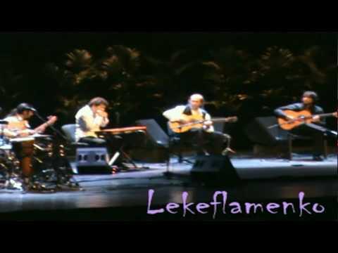 Paco de Lucia 2010 con Duquende, David de Jacoba y Farru Concierto en Belgrado 4º