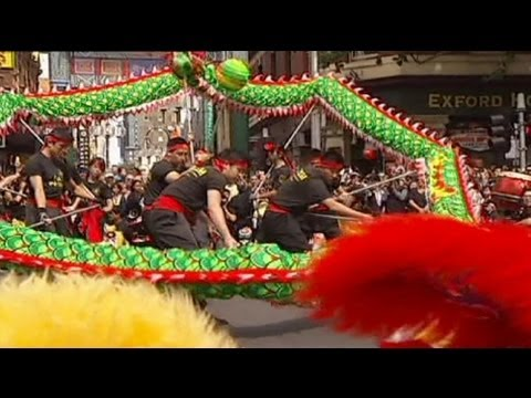 World cities join in Chinese Lunar New Year