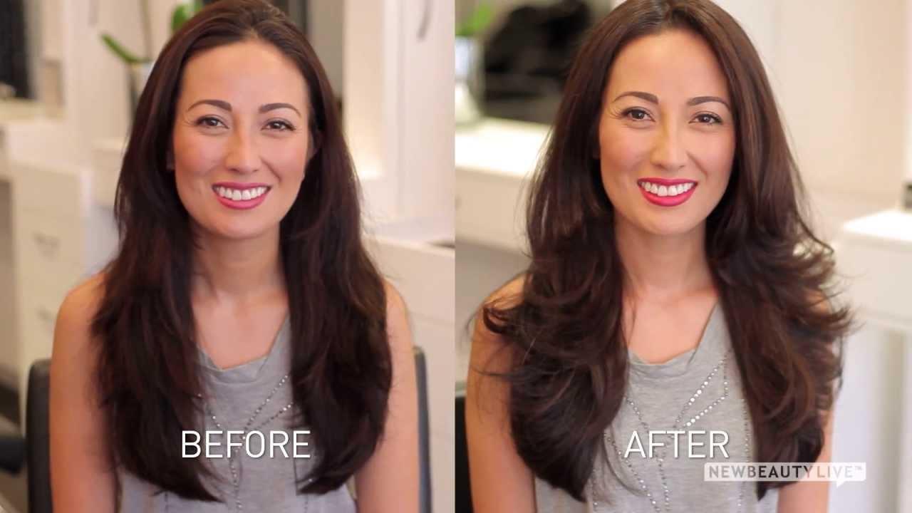 Hair Gloss Or Keratin Treatment For Smooth Shiny Hair