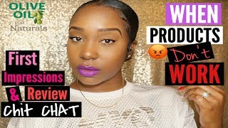 ORS NATURALS  FIRST Impressions! | Low SLEEK Bun Chit Chat!
