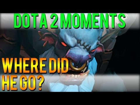 Dota 2 Moments - Where did he Go?