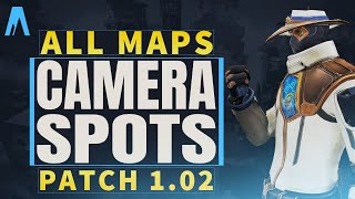 Cypher Camera Spots on ALL Maps for Patch 1.02