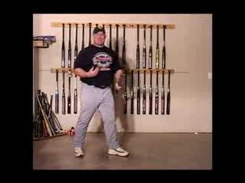 Softball Hitting : How Rotational Power is Generated by the HIps Video