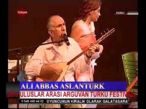 Ali Abbas Aslanturk 2011 uluslar arasi Arguvan turku festivalimizde