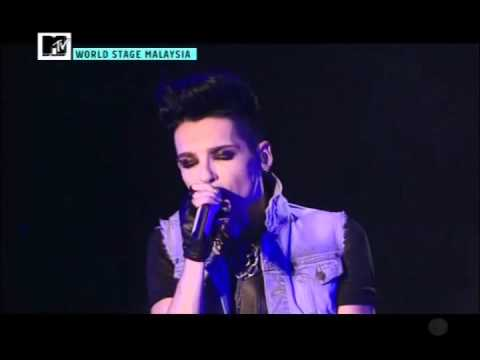 Mtv World Stage Malaysia Tokio Hotel Zoom Into Me video