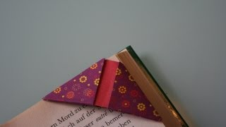 Origami Lesezeichen / Origami Bookmark