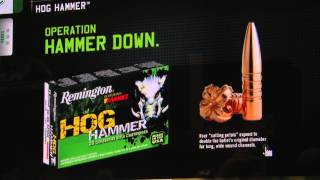 Remington Hog Hammer - Hypersonic - Ammunition SHOT Show 2013 - Luke Hartle