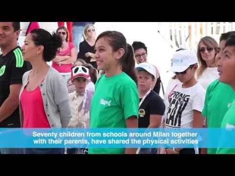 A GENERATION ON THE MOVE: KINDER+SPORT MEXICO AT EXPO MILANO 2015