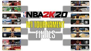 Finals Who Is The Best 1v1 Player In NBA 2K20? | NBA 2K20 1v1 Tournament Finals