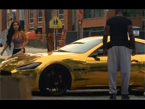 "GOLD DIGGER Prank GOLD Maserati ""I Can Take Your Girl"" Part 3"