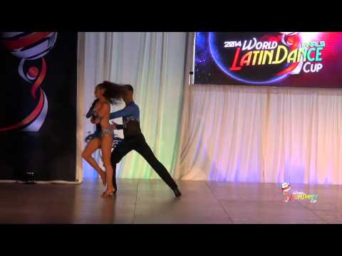 ALBERT OJEDA & ANNA REYNALS, SPAIN, AMATEUR SALSA ON 1, FINAL ROUND, WLDC 2014