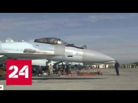 Су-35: истребитель, опровергающий законы физики - Россия 24