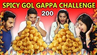 200 Spicy Gol Gappa Challenge | Most Spicy Golgappa Eating Competition