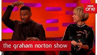 Ed Sheeran slept on Jamie Foxx's couch for 6 weeks  - The Graham Norton Show: 2017 - BBC One