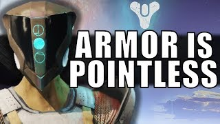 Destiny 2: Armor Is POINTLESS!   The Loss of Customization & Builds