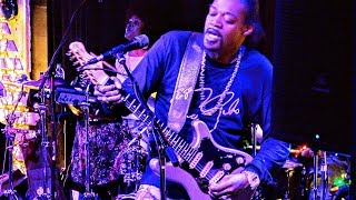 Eric Gales In Concert 4k Audio Blue Note Grill Durham Nc Dec 1 2018