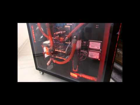 Projeto AquaCubo Vertical GBA - Premiado na Campus Party 2013 - i7 3770k GTX 580 SLI Watercooler