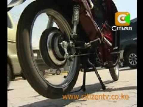 Electric Motorbikes Hit Kenyan Market
