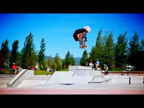 Amazing 9 year old skateboarder