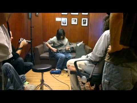 Jumbo Jutt in the making! Faraz Awar soloing over the song