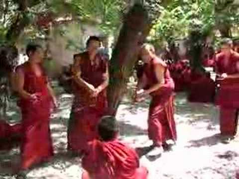 Tibetan Monk debate Music Videos