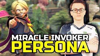 Liquid.Miracle- FIRST TIME YOUNG INVOKER HERO PERSONA - EPIC GAMEPLAY BEST INVOKER SET DOTA 2