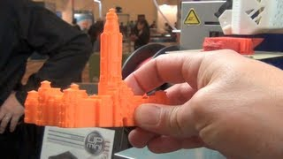Como funciona una Impresora en 3D -3D Printer how it works CES 2013