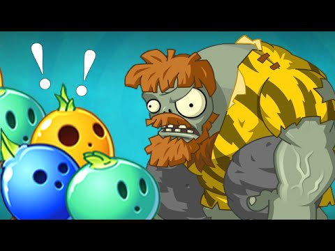 Plants vs. Zombies 2 Bowling with Gargantuars