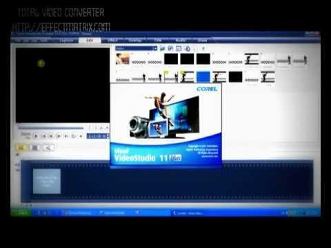 การใช้งานUlead VideoStudio11  การตัดต่อVIDEO