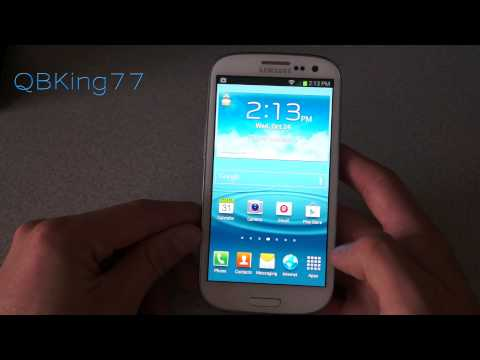 Touchwiz Jelly Bean 4.1.1 LJ7 on Sprint Samsung Galaxy S III