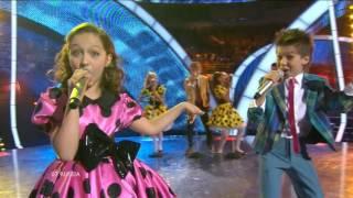 Junior Eurovision 2010: Liza Drozd & Sasha Lazin - Boy And Girl (Russia)