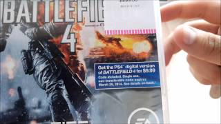 Unboxing Battlefield 4 (PS3)