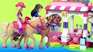 Mega Bloks Barbie Build n Play Barbie Horse Event Building Toy For Kids