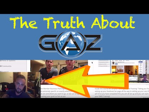 Global Affiliate Zone Review (GAZ) - Over $100.000 Earned Using The GAZ System
