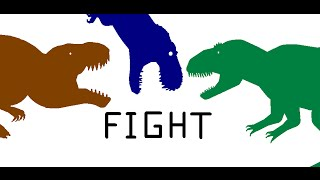 "EGB: Turok T-rex vs T-Giga vs V-rex ""50 Sub Special Part 2"""