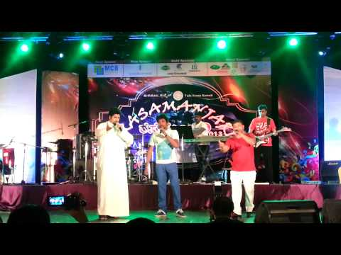 kuwaiti singing hindi song  tulu koota kuwait