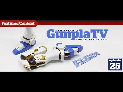Gunpla - Episode 25 Part 2 - Gundam - Tutorial - Building - Kit reviews