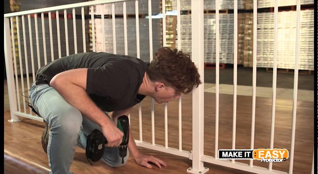 how to install an Aluminium Balustrade
