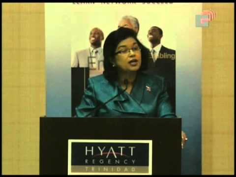 Caribbean Leadership Project  Minister of Public Administration Hon. Carolyn Seepersad-Bachan