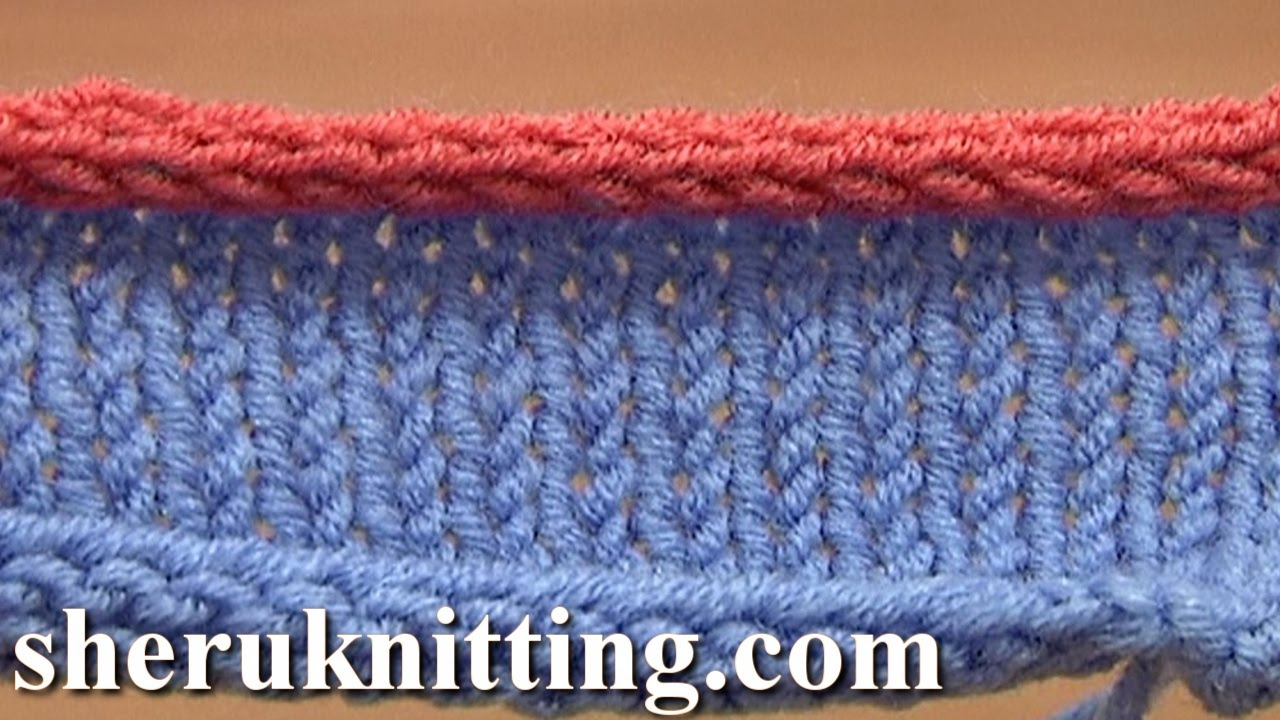 How To Bind Off Knitting In Pattern : How to Knit I-cord Bind Off Tutorial 7 Method 12 of 12 Different Bind-Offs - ...