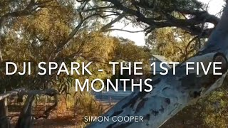 The 1st Five Months - Best / Favourite Bits Of My Aerial Drone Footage So Far (DJI Spark)